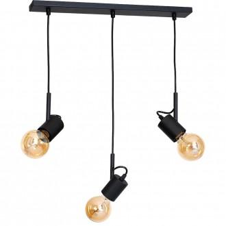 ALDEX 944E | Aluna Aldex függeszték lámpa 3x E27 fekete
