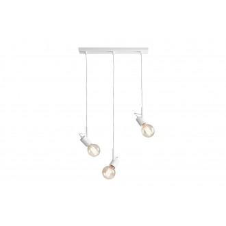 ALDEX 945E | Aluna Aldex függeszték lámpa 3x E27 fehér