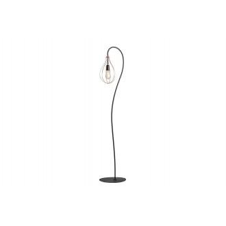 ALDEX 960A | Allegra Aldex álló lámpa 161cm kapcsoló 1x E27 fekete, vörösréz