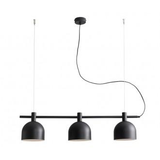 ALDEX 976E/1 | Beryl Aldex függeszték lámpa 3x E27 fekete, fehér