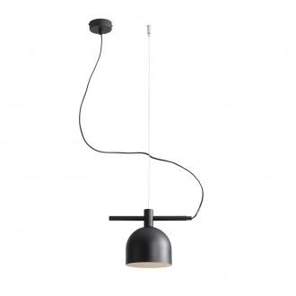 ALDEX 976G1 | Beryl Aldex függeszték lámpa 1x E27 fekete, fehér