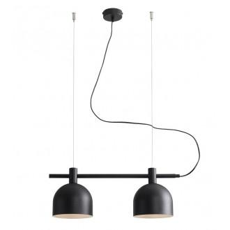 ALDEX 976H1 | Beryl Aldex függeszték lámpa 2x E27 fekete, fehér