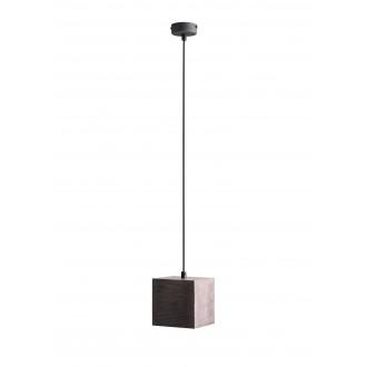 ALDEX 982G21 | Bit-AL Aldex függeszték lámpa 1x GU10 sötét fa, fekete