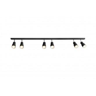 ALDEX 985PL/K1 | Aspo Aldex spot lámpa 6x GU10 fekete