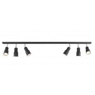 ALDEX 986PL/K1 | Aspo Aldex spot lámpa 6x GU10 fekete
