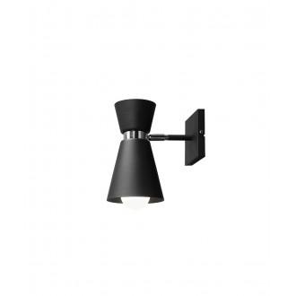 ALDEX 989C1 | Kedar Aldex falikar lámpa elforgatható alkatrészek 1x E27 fekete, króm