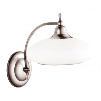 AMPLEX 102 | Agat Amplex fali lámpa 1x E14 króm, fehér