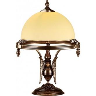 AMPLEX 459 | Cordoba_I Amplex asztali lámpa 60cm vezeték kapcsoló 1x E27 matt patina
