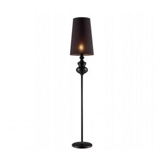 AZZARDO 0063 | Baroco Azzardo álló lámpa 173cm kapcsoló 1x E27 fekete, antik