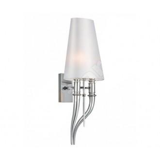 AZZARDO 0087 | Diablo-AZ Azzardo falikar lámpa 2x E14 króm, fehér