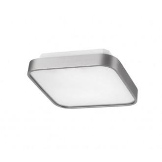 AZZARDO 0202 | Quadro-AZ Azzardo mennyezeti lámpa 1x G5 / T5 alumínium, fehér
