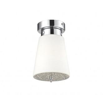 AZZARDO 0495 | Deco-AZ Azzardo mennyezeti lámpa 1x E27 króm, fehér