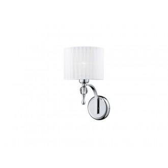 AZZARDO 0503 | Impress-AZ Azzardo falikar lámpa 1x E27 króm, fehér, kristály