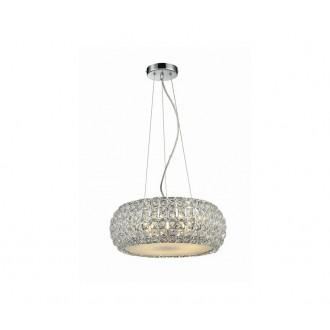 AZZARDO 0520 | Sophia Azzardo függeszték lámpa 3x E14 króm, kristály