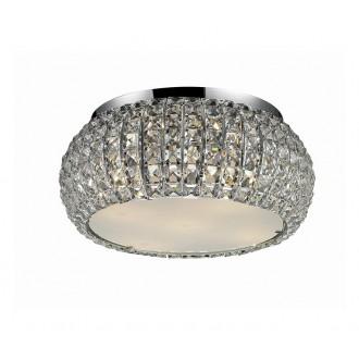 AZZARDO 0521 | Sophia Azzardo mennyezeti lámpa 5x E14 króm, kristály