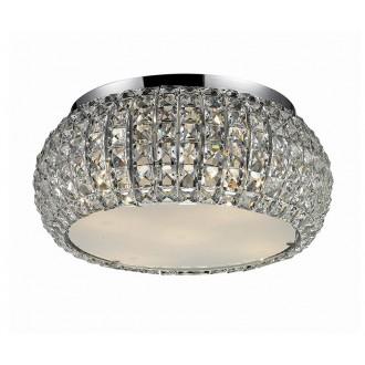AZZARDO 0695 | Sophia Azzardo mennyezeti lámpa 6x E14 króm, kristály