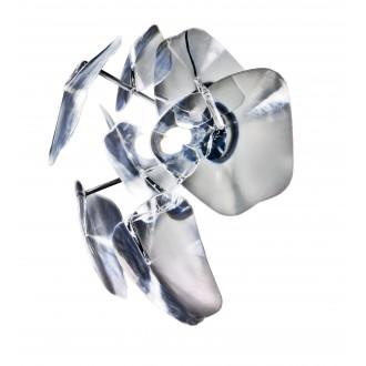 AZZARDO 0979 | 3D Azzardo fali lámpa 1x E27 króm, átlátszó