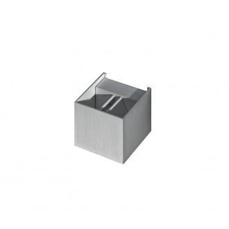 AZZARDO 1057 | Leticia Azzardo fali lámpa állítható szórásszög, elforgatható fényforrás 1x G9 szürke