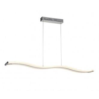 AZZARDO 1290 | Bertone Azzardo függeszték lámpa 1x LED 2100lm 3000K króm, fehér