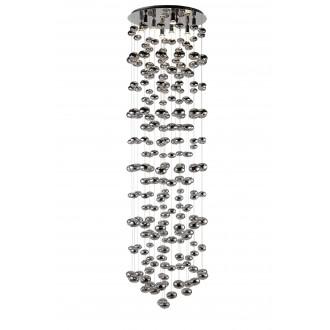 AZZARDO 1296 | Luvia Azzardo függeszték lámpa 9x GU10 króm