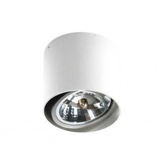 AZZARDO 1356 | Alix_Alex Azzardo mennyezeti lámpa henger szabályozható fényerő, elforgatható fényforrás 1x G53 / AR111 fehér
