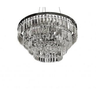 AZZARDO 2107 | Salerno-AZ Azzardo mennyezeti, függeszték lámpa 5x G9 króm, kristály