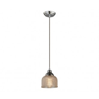 AZZARDO 2109 | Mora-AZ Azzardo függeszték lámpa 1x E27 króm, arany