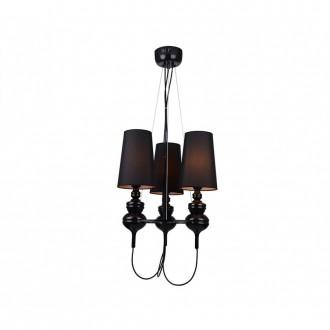 AZZARDO 2163 | Baroco Azzardo csillár lámpa 3x E14 fekete