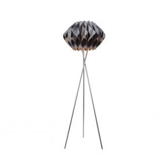 AZZARDO 2405 | Ruben-AZ Azzardo álló lámpa 156cm kapcsoló 1x E27 króm, szürke