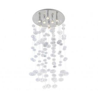 AZZARDO 2573 | Luvia Azzardo mennyezeti lámpa 9x GU10 átlátszó