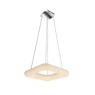 AZZARDO 2666 | Donut-AZ Azzardo függeszték lámpa távirányító szabályozható fényerő 1x LED 6800lm 2700 <-> 6000K fehér