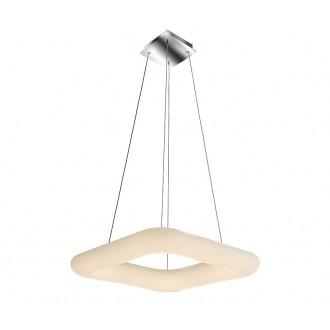 AZZARDO 2667 | Donut-AZ Azzardo függeszték lámpa távirányító szabályozható fényerő 1x LED 7140lm 2700 <-> 6000K fehér