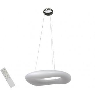 AZZARDO 2673   Donut-AZ Azzardo függeszték lámpa távirányító szabályozható fényerő 1x LED 6460lm 2700 <-> 6000K fehér