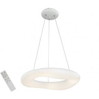 AZZARDO 2675   Donut-AZ Azzardo függeszték lámpa távirányító szabályozható fényerő 1x LED 18360lm 2700 <-> 6000K fehér