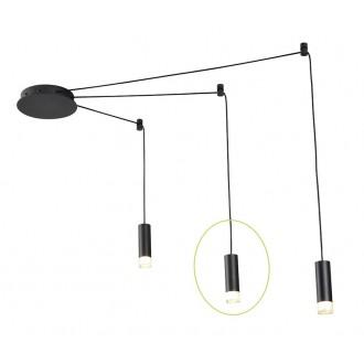 AZZARDO 2679 | Ziko Azzardo rendszerelem lámpa 1x G9 fekete