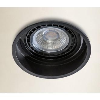 AZZARDO 2683 | Torres-AZ Azzardo beépíthető lámpa elforgatható fényforrás Ø88mm 88x88mm 1x GU10 fekete