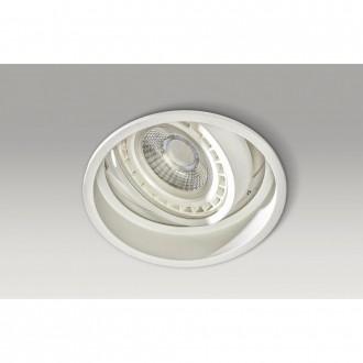 AZZARDO 2684 | Torres-AZ Azzardo beépíthető lámpa elforgatható fényforrás Ø155mm 155x155mm 1x GU10 / ES111 fehér