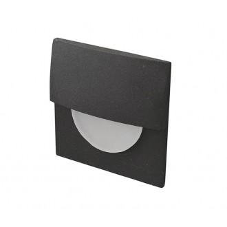 AZZARDO 2765 | Sane Azzardo beépíthető lámpa 1x LED 85lm 3000K fekete