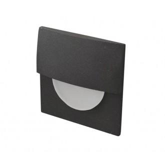 AZZARDO 2768 | Sane Azzardo beépíthető lámpa 1x LED 170lm 3000K fekete