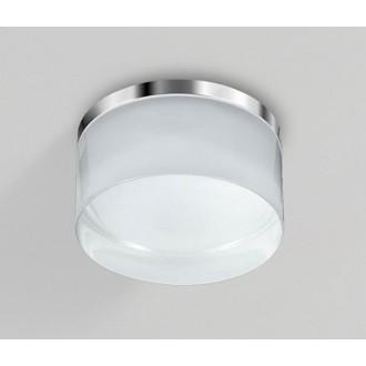AZZARDO 2775 | Linz Azzardo mennyezeti lámpa 1x LED 4000K IP44 króm, fehér