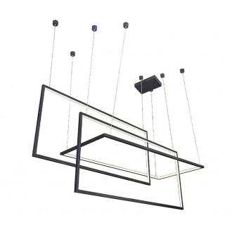 AZZARDO 2914 | Metric Azzardo függeszték lámpa szabályozható fényerő 1x LED 6880lm 3000K fekete