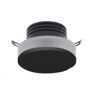 AZZARDO 3369 | Taz Azzardo beépíthető lámpa kerek Ø50mm 1x LED 85lm 4000K fekete, savmart