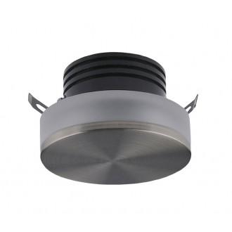 AZZARDO 3371 | Taz Azzardo beépíthető lámpa kerek Ø50mm 1x LED 85lm 4000K szatén nikkel, savmart