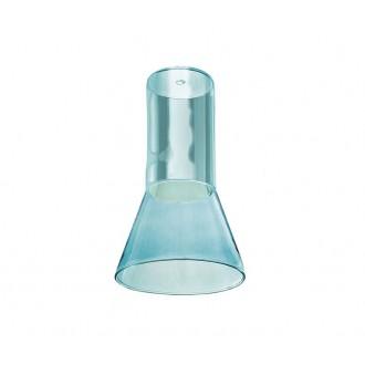 AZZARDO 3414 | Ziko Azzardo búra alkatrész GU10 kék, átlátszó