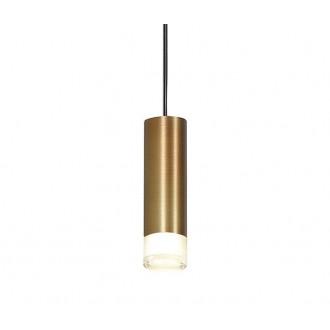 AZZARDO 3457 | Ziko Azzardo rendszerelem 3m lámpa henger 1x G9 antikolt réz, fekete, áttetsző