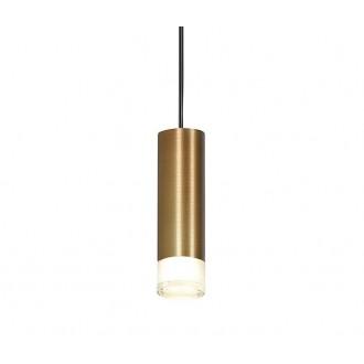 AZZARDO 3458 | Ziko Azzardo rendszerelem 6m lámpa henger 1x G9 antikolt réz, fekete, áttetsző
