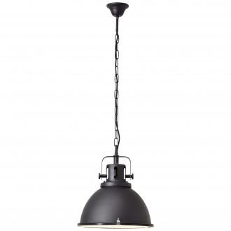 BRILLIANT 23772/06 | Jesper Brilliant függeszték lámpa 1x E27 fekete