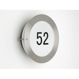 BRILLIANT 41380/82 | NevadaB Brilliant fali lámpa 1x E27 IP23 nemesacél, rozsdamentes acél