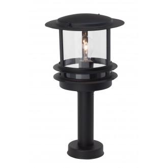 BRILLIANT 47884/06 | Hollywood Brilliant álló lámpa 35cm 1x E27 IP44 fekete