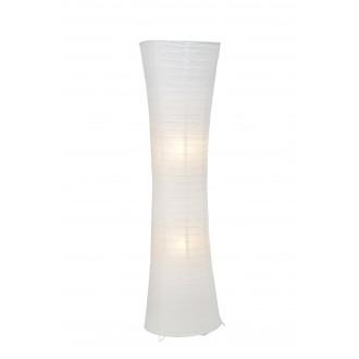 BRILLIANT 92961/05 | Becca Brilliant álló lámpa 125cm taposókapcsoló 2x E27 fehér